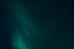 Nordliga ljus - Aurora Borealis Arkivfoto