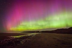 Nordliga ljus Aurora Borealis royaltyfri bild