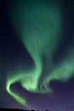 Nordliga ljus Aurora Borealis Fotografering för Bildbyråer