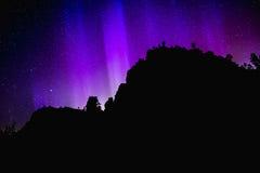 Nordliga ljus i Amerika Royaltyfri Bild