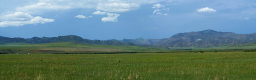 Nordliga Mongoliet Arkivbild
