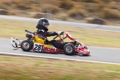 Nordliga Nevada Kids Kart Club Racing Arkivbilder