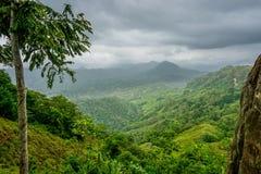 Nordligt colombianskt landskap arkivbild