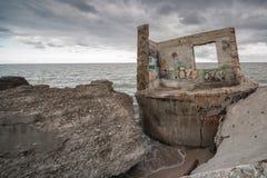 Nordligt fort Fotografering för Bildbyråer