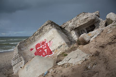 Nordligt fort Royaltyfri Fotografi