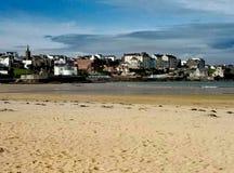 Nordligt - Irland strand arkivfoton