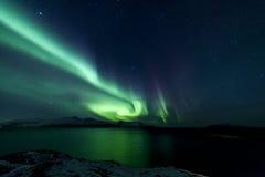 Nordligt ljus royaltyfria foton