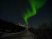 Nordligt ljus Fotografering för Bildbyråer