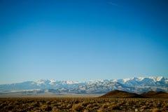 Nordligt Nevada landskap Arkivbilder