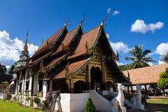nordligt tempel thailand Royaltyfri Foto