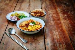 Nordligt thailändskt för thailändsk mat fotografering för bildbyråer