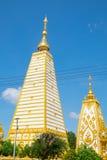 Nordostliga Wat Phra That Nong Bua, Thailand Arkivbild