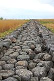 Nordpier Ainazi lettland stockfoto