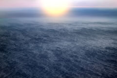 Nordpolarmeer von der Höhe des Vogelfluges Lizenzfreie Stockfotografie