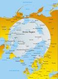 Nordpolen Arkivbild
