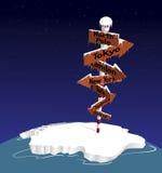 Nordpolen Fotografering för Bildbyråer