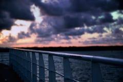 Nordschlucht auf Stradbroke-Insel, Queensland stockfoto