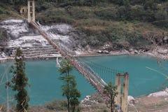 Nordschwester Indien ostens sieben Naturschönheit Gangtok Sikkim Lizenzfreies Stockbild