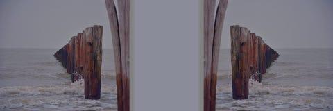 Nordsea, photo reflétée Photos libres de droits