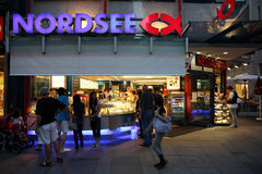 Nordsee - seafood restaurant Royalty Free Stock Photography