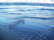 Nordsjön på skymning Royaltyfri Bild
