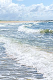 Nordsjönvågor arkivfoton
