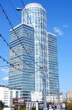 Nordstar-Turm-Moskau-Geschäftszentrum Russland-Sommer Stockfotos