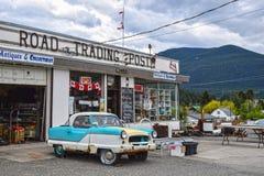 Nordstraßen-Handelsstation, Clinton BC Kanada Lizenzfreie Stockbilder