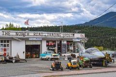 Nordstraßen-Handelsstation, Clinton BC Kanada Lizenzfreie Stockfotos
