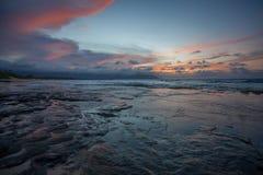 Nordstrand Kaneohe Marine Corps Base Hawaii Lizenzfreie Stockfotografie