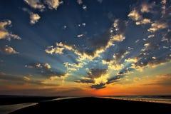 Nordstrand Seabrook-Insel Lizenzfreies Stockfoto