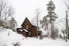 nordstrandvilla Fotografering för Bildbyråer