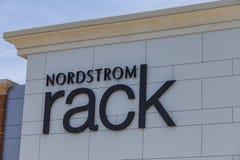 Nordstrom机架标志 图库摄影