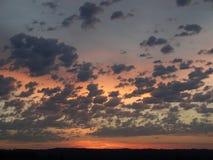 Nordvästlig Oregon soluppgång 2015 Arkivfoton