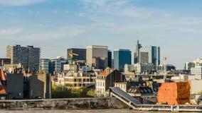 Nordviertel - modernes Finanz- und Geschäftszentrum lizenzfreies stockfoto
