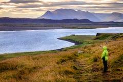 Nordwestliches Island Stockbild