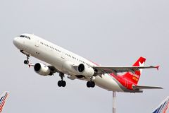 Nordwind Airlines Airbus A321 Royalty Free Stock Image