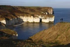 Nordyorkshire-Küste in Großbritannien Lizenzfreie Stockfotografie