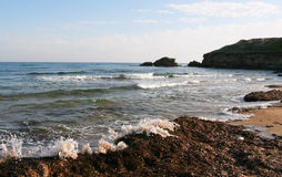 Nordzypern-Strand lizenzfreie stockfotos