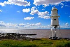 Nore Lighthouse preta Imagens de Stock Royalty Free