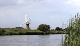 Norfolk Broads uk Royalty Free Stock Image
