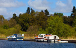 Norfolk Broads. Part of the Norfolk Broads on the river Ant royalty free stock photos