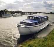 Norfolk broads. East anglia national park england uk europe royalty free stock photography