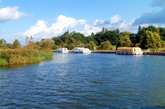 Norfolk Broads Royalty Free Stock Photos