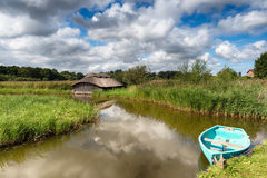 The Norfolk Broads Royalty Free Stock Photos