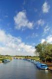 Norfolk Broads, Engeland Stock Afbeeldingen