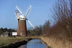 Norfolk Broads in South East England Royalty Free Stock Photography