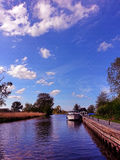 Norfolk broads Royalty Free Stock Image