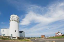 Norfolk coastline, lighthouse and blue skies Stock Photography