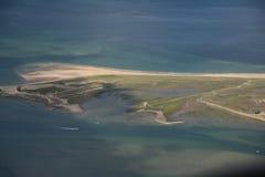 Norfolk do ar - ponto de Blakeney Foto de Stock